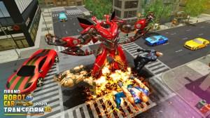 Grand Robot Car Transform 3D Game 1.32 Screen 3