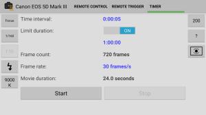 DSLR Remote Control - Camera 1.1.6 Screen 2