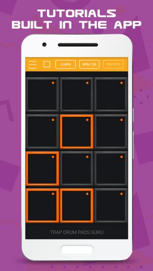 Trap Drum Pads Guru 1.04 Screen 2