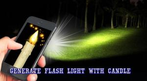 Candle FlashLight 1.07 Screen 2