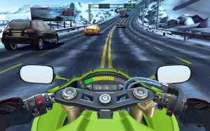 Android Moto Rider GO: Highway Traffic Screen 4