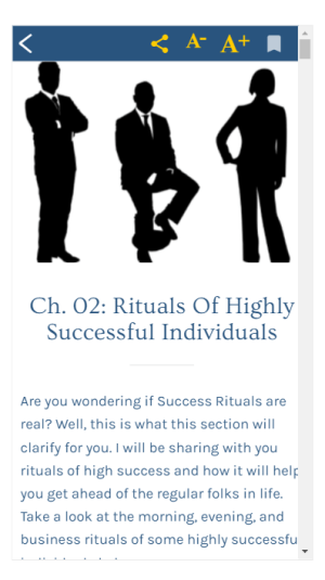 Success Rituals 1.0 Screen 4
