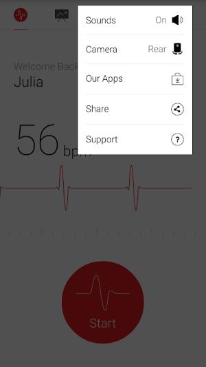 Cardiograph - Heart Rate Meter 4.1.2 Screen 4