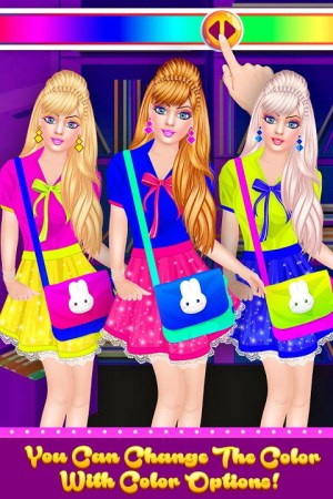 Android Fashion Doll - Back to School Dress Up Game Screen 4