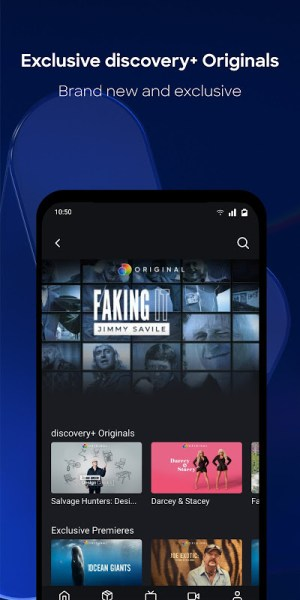 discovery+ 2.1.0 Screen 4