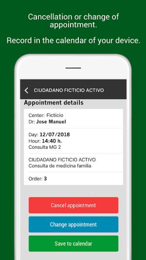 Citas Andalucía 1.0.1 Screen 4