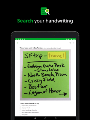 Evernote - stay organized. 8.12.5 Screen 9