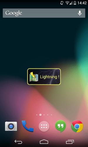 Lightning Locator 5.4 Screen 2