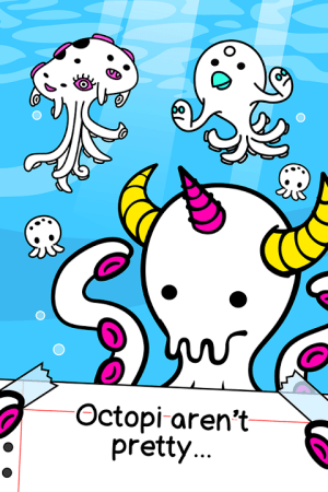 Octopus Evolution - 🐙 Squid, Cthulhu & Tentacles 1.2.2 Screen 2