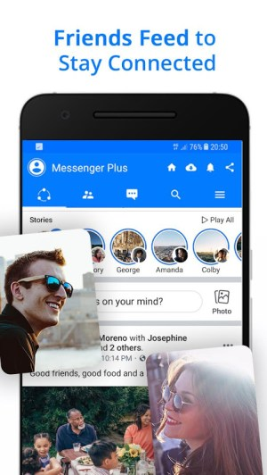 Android Messenger for Messages, Text and Video Chat Screen 7