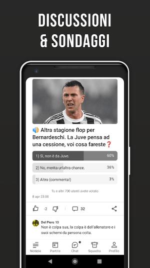 Bianconeri Live – Fan app di calcio non ufficiale 3.2.16 Screen 1