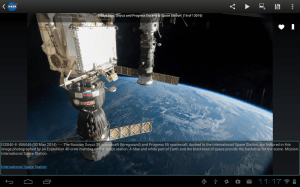 NASA App 1.61 Screen 2