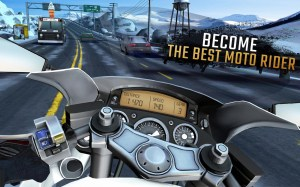 Android Moto Rider GO: Highway Traffic Screen 6