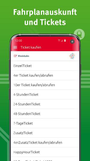 VRR-App - Fahrplanauskunft 5.37.14418 Screen 10