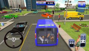 Police Dog Transport Truck Driver Simulation 3D 1.14 Screen 1