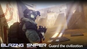 Blazing Sniper - offline shooting game 2.0.0 Screen 1