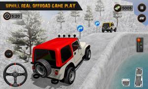 Android Offroad Jeep Driving Pro Master :uphill Jeep Drive Screen 1