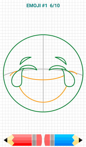 Android How to Draw Emoji Emoticons Screen 8