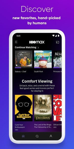HBO Max: Stream HBO, TV, Movies & More 50.5.0.215 Screen 2
