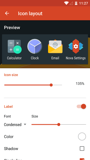 Nova Launcher 5.0-beta3 Screen 7