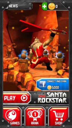 Santa Rockstar 1.0.0 Screen 1