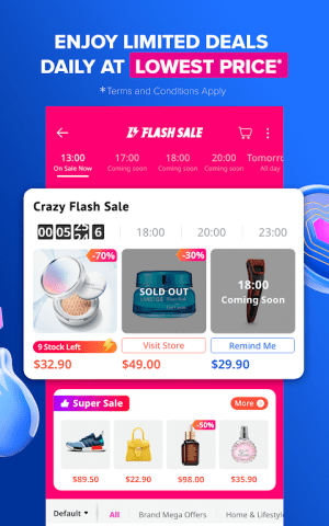 Android Lazada - 11.11 Biggest One-Day Sale Screen 1
