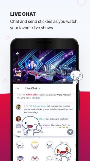 Vidio - Watch Video, TV & Live Streaming 4.32.9-7437722 Screen 1
