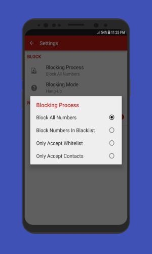 Android Caller Blacklist - Spam & Call Blocker Screen 6