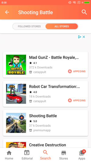 Aptoide Dev 9.13.3.0.20200404 Screen 8