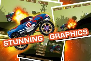 Mad Truck 2 -- monster truck hit zombies 3.71.9 Screen 1