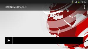 BBC Media Player 3.1.0 Screen 2