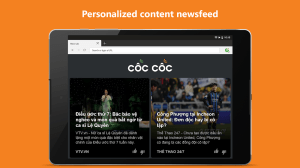 Cốc Cốc Browser - Browse web fast & secured 87.0.184 Screen 8