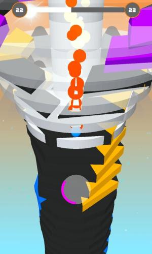Android Stack Ball - Blast 3D Screen 2
