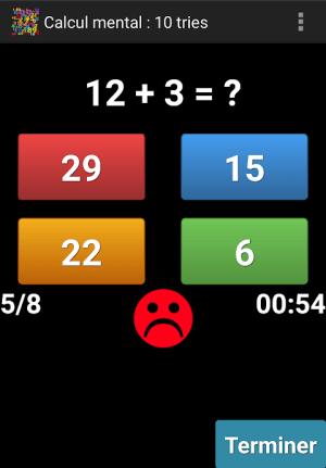 Mental Arithmetic 9.1 Screen 7
