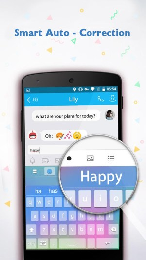 Android Emoji Keyboard ♥ Screen 1