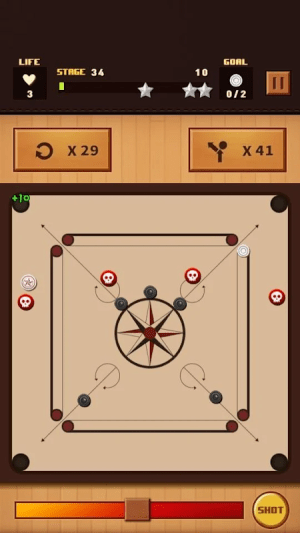 Android Carrom Champion Screen 2