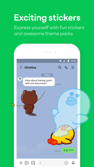 LINE: Free Calls & Messages 11.13.2 Screen 6