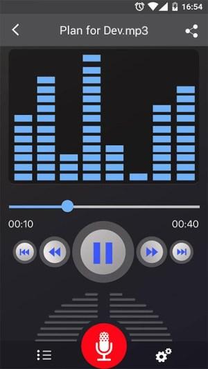 Voice Recorder 45 Screen 1