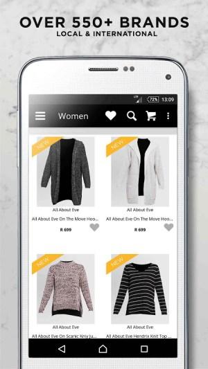 Online Fashion Shopping Zando 1.4.1 Screen 1