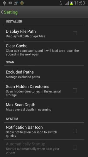 Easy Installer - Apps On SD 3.1.8 Screen 2