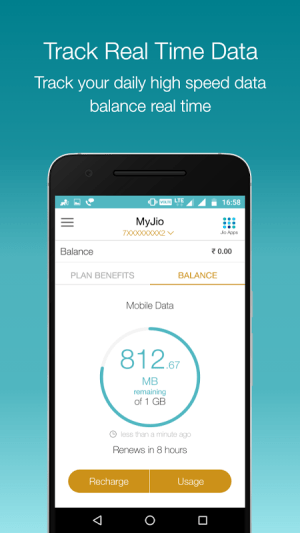 MyJio 3.2.33 Screen 3