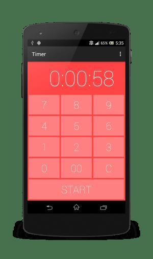 Timer-Kitchen timer&Stopwatch 1.2.3 Screen 3