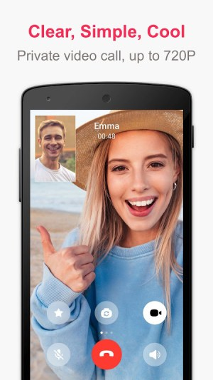 JusTalk - Free Video Calls and Fun Video Chat 7.4.29 Screen 3