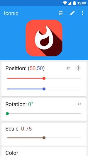 Iconic: Custom Icon Pack Maker, Logo Design Tool 2.1.1 Screen 3