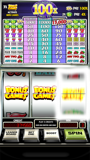 Slot Machine: Double Hundred Times Pay Free Slots 2.1 Screen 5