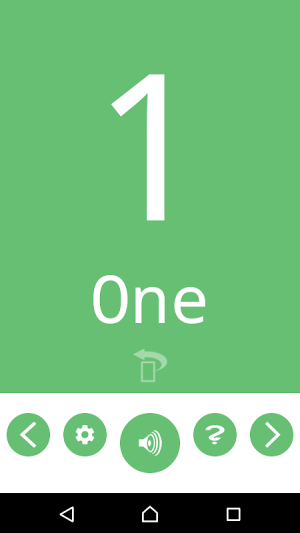 Number Flashcards 1.0.1 Screen 6