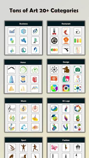 Logo Maker - Logo Creator & Poster Maker New Version Screen 3
