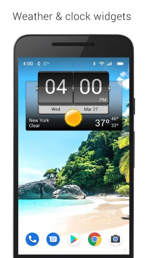 3D Flip Clock & Weather Ad-free 5.76.2.1 Screen 13