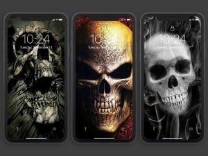 Android Skull Wallpapers and Backgrounds Screen 13