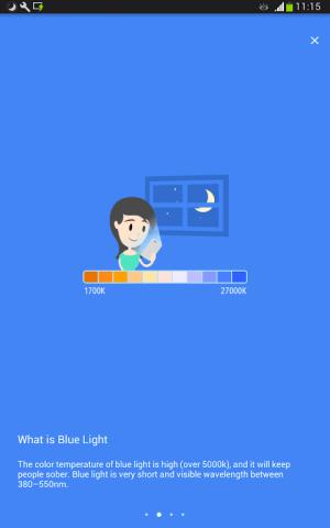Blue Light Filter - Night Mode, Night Shift 1.4.7N Screen 10